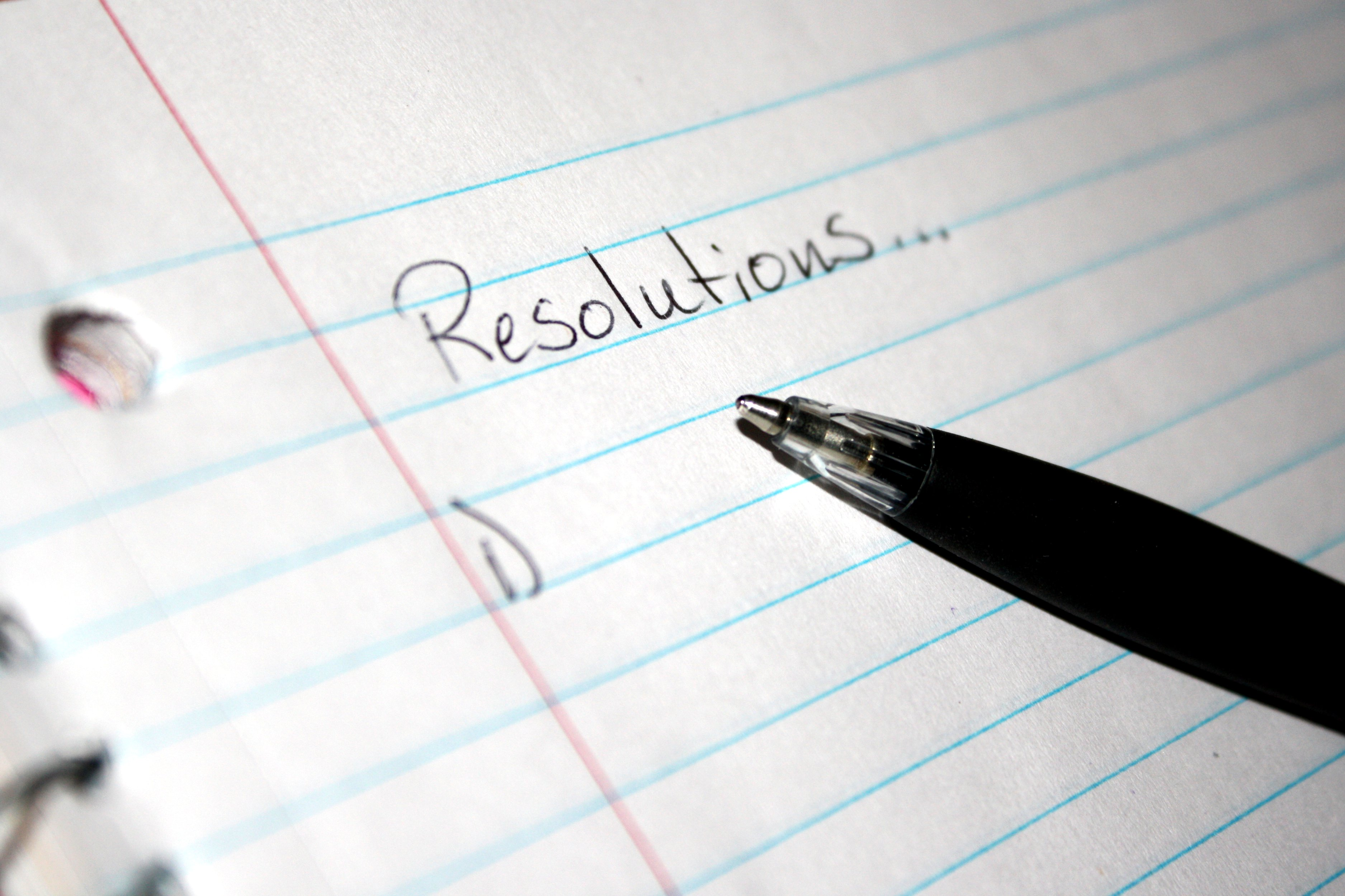 Start Fresh! Stress Less With these Top Ten New Year Resolutions
