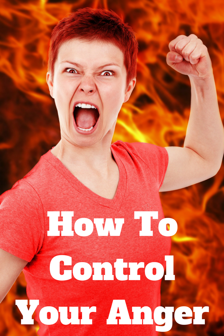 how to control anger and stress