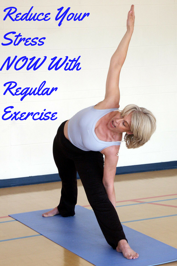 relieving stress with exercise