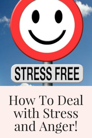 how to deal with stress and anger