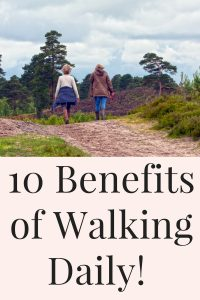 10 health benefits of walking