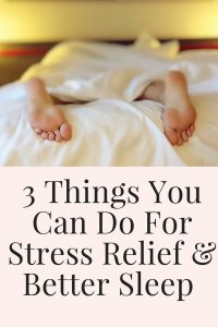 Things you can do for stress relief