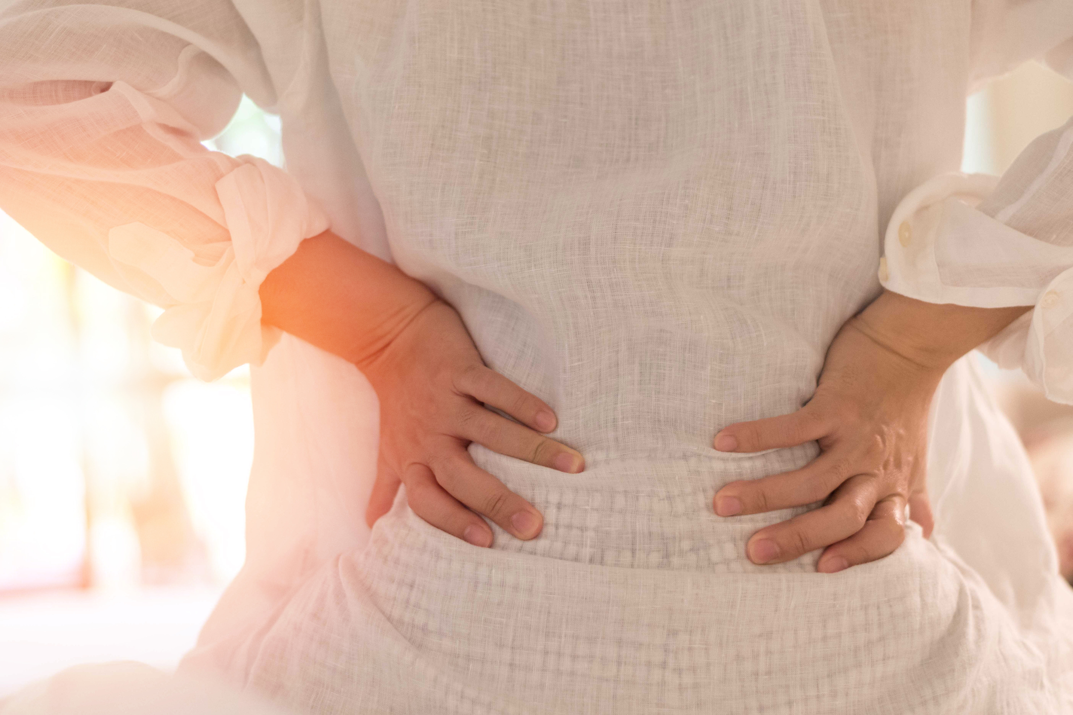 stress and lower back pain