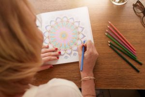 coloring for stress relief