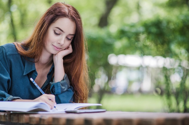 journaling for stress relief, journaling for self care