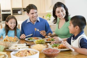 spend time with family for stress relief