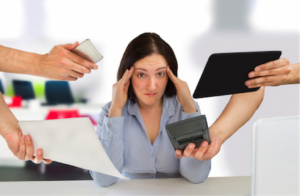 find ways to cope with job stress