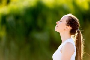 deep breathing for stress reduction