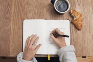 journaling for stress relief