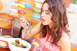 eat healthy foods for stress relief